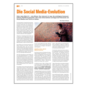Heinz W. Droste - Die Social Media-Evolution