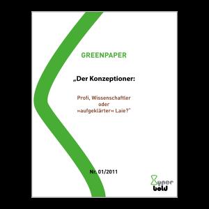 Heinz W. Droste - Das können Konzeptioner!